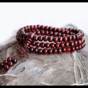 New Tibetan Meditation Prayer Beads Bracelet Mala